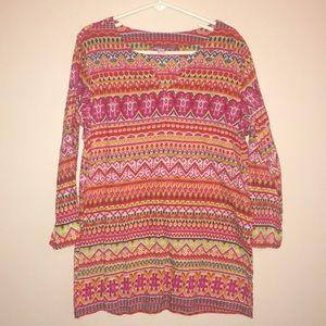 Calypso St Barth cotton tunic size L